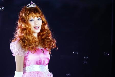 お姫様のコスプレ
