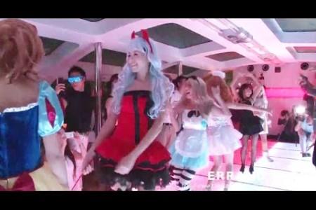 halloween fashion show japan 2014